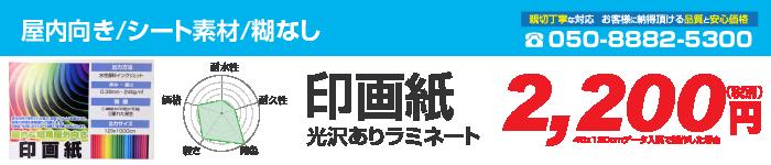 印画紙/光沢あり
