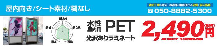 PET/光沢あり